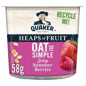 Quaker Oat So Simple Summer Berries Porridge Big Pot