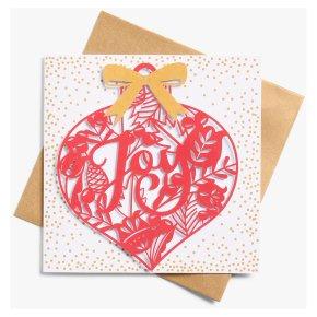 John Lewis Christmas Joy Card
