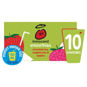 Innocent Smoothies Just for Kids Apple Strawberry Raspberry