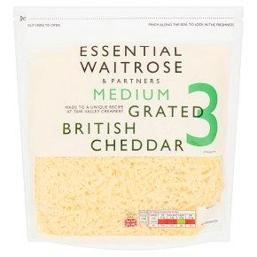 Essential English Cheddar Grated Strength 3