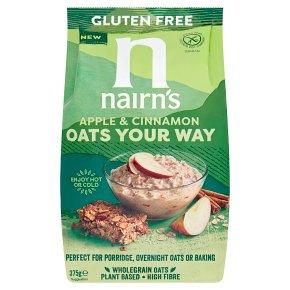Nairns Oats Your Way Apple & Cinnamon