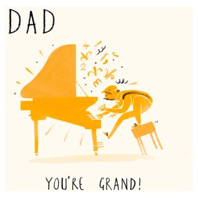 You're Grand Fathers Day Card