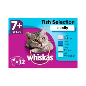 Whiskas 7+ Fish Selection in Jelly