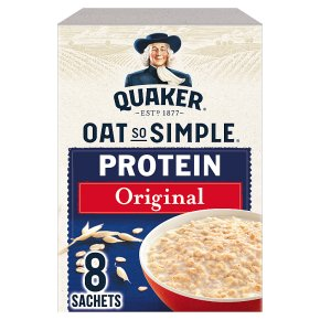 Quaker Oat So Simple Protein Original 8s