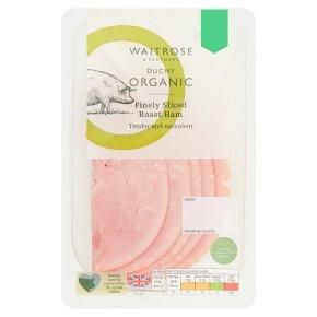Duchy Organic Finely Sliced Roast Ham