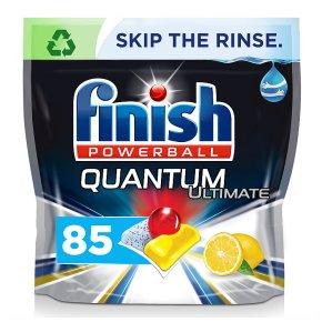 Finish Quantum Ultimate Dishwasher Tablets Lemon