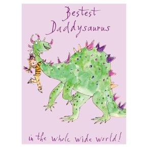 Bestest Daddysaurus Fathers Day