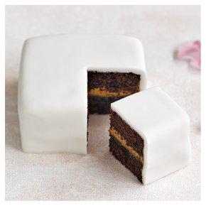 Chocolate Salted Caramel Sample Wedding Cake