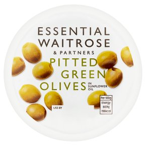 Essential Pitted Green Olives