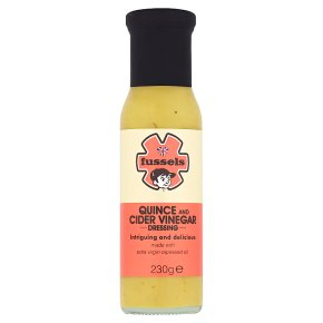 Fussels Quince Cdr Vinegar Dressing