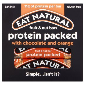 Eat Natural Protein Packed Chocolate and Orange