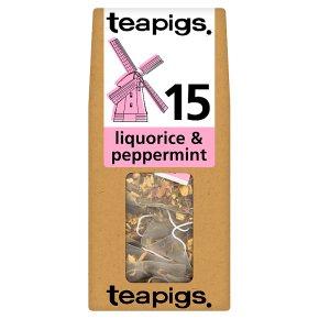 Teapigs Licquorice & Peppermint 15 Tea Temples