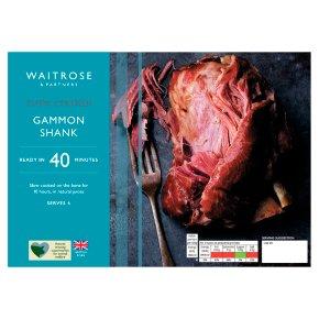 Waitrose Slow Cooked Gammon Shank