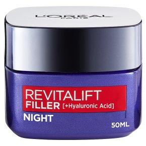 L'Oréal Revitalift Filler Night Cream