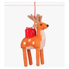 John Lewis Felt Deer Present Decoration