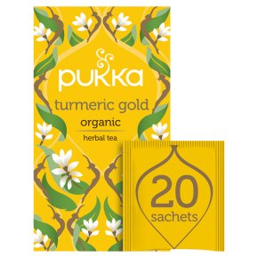 Pukka Turmeric Gold 20Herbal Tea Sachets