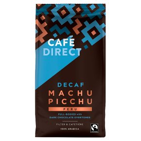 Cafédirect Fairtrade Decaffeinated Machu Picchu