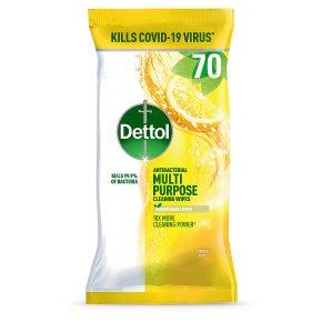 Dettol Multipurpose Wipes Citrus Zest