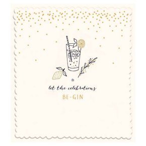 Celebrations Be Gin Card