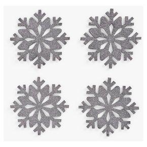 John Lewis Snowflake Felt Coasters