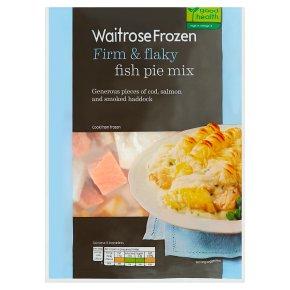 Waitrose Frozen Fish Pie Mix