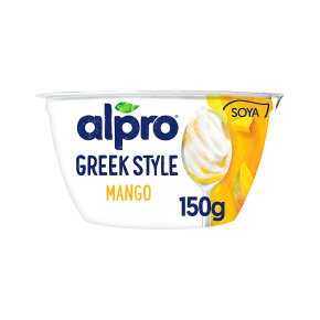 Alpro Greek Style Mango Yoghurt Alternative