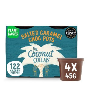 The Coconut Collaborative Salted Caramel Choc Pots