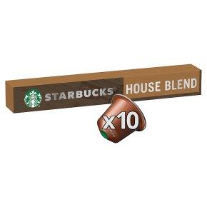 Starbucks by Nespresso House Blend Capsules 10s