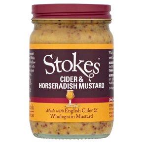 Stokes cider & horseradish mustard