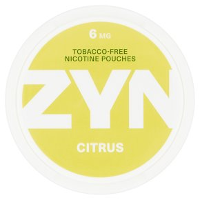 Zyn Nicotine Pouch Citrus Strong 6mg