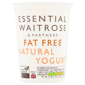 Essential Fat Free Natural Yogurt