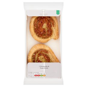 No.1 Mozzarella & Pesto Swirls 2s