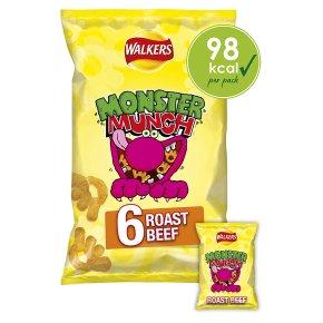 Walkers Mega Monster Munch Roast Beef