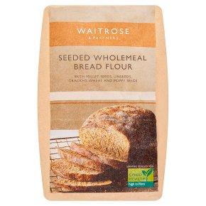 Waitrose Seeded Wholemeal Bread Flour