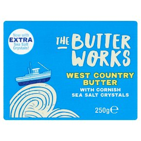 The Butterworks West Country Butter Cornish Sea Salt
