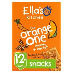 Ella's Kitchen The Orange One Oat Bars