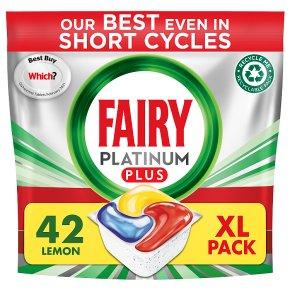 Fairy Platinum Plus Lemon All in One Capsules 55s