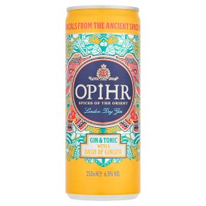 Opihr Gin & Tonic with Dash of Ginger