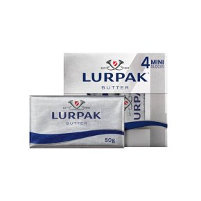 Lurpak Butter Slightly Salted 4 Mini Blocks