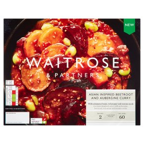 Waitrose Asian Beetroot & Aubergine Curry