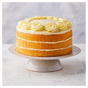 Lemon Triple Layer Cake