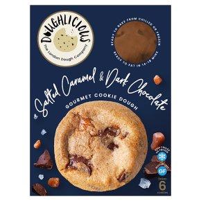 Doughlicious Salted Caramel & Chocolate Gourmet Cookie Dough