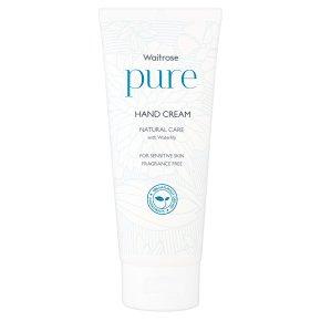 Waitrose Pure Natural Hand Cream