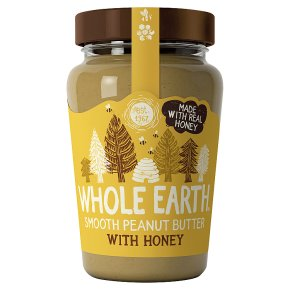Whole Earth Smooth Peanut Butter with Honey