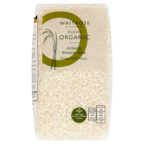 Waitrose Duchy Arborio Risotto Rice