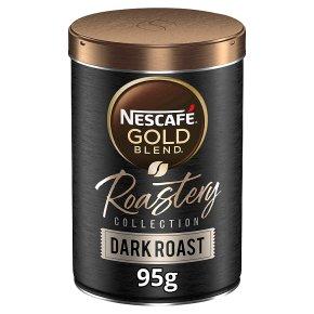 Nescafe Gold Blend Roastery Dark Roast Instant Coffee