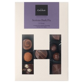 Hotel Chocolat Dark Fix H-box