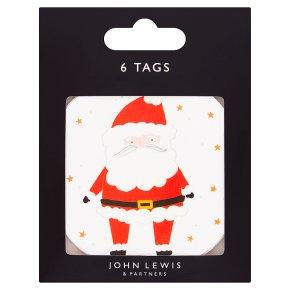 John Lewis Santa Gift Tags