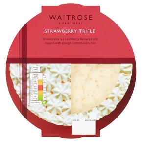 Waitrose Strawberry Trifle
