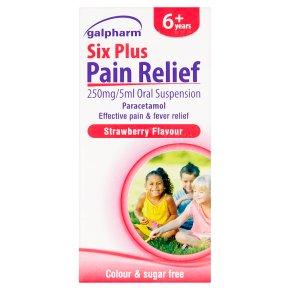 Galpharm Six Plus Pain Relief